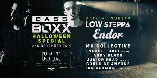 MK Collective Presents: BassBoxx - Low Steppa, Endor + More