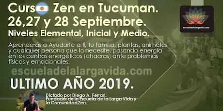 Curso Zen en Tucuman: 26,27 y 28 Septiembre. entradas