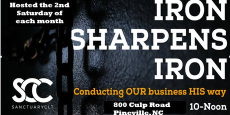 IRON SHARPENS IRON: Conducting OUR business HIS way tickets