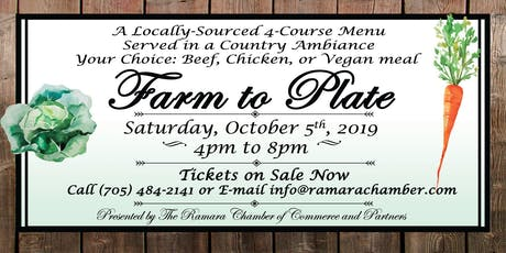 Farm to Plate tickets