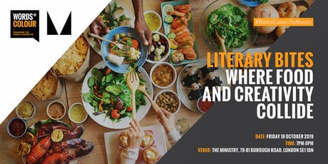 Literary Bites: Where food and creativity collide tickets
