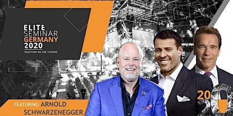 Elite Seminar Germany feat. Tony Robbins, Arnold Schwarzenegger &Eric Worre tickets