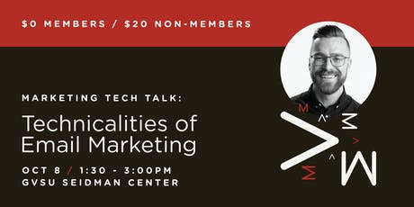 Marketing Tech Talk: Technicalities of Email Marketing tickets