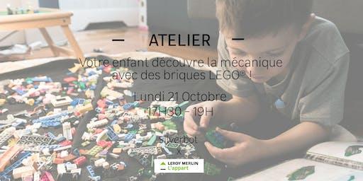 Votre enfant découvre la mécanique avec des briques LEGO® !