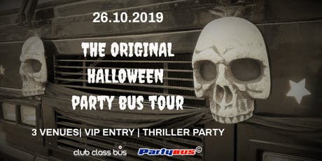 The Original Halloween Party Bus Tour tickets