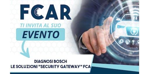 """Diagnosi Bosch - Le soluzioni """"security gateway"""" FCA"""