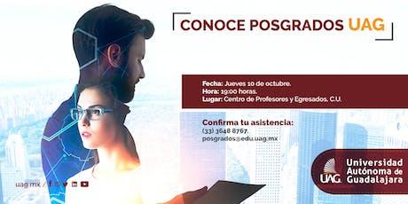 Sesión Informativa de Posgrados tickets