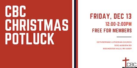 Christmas Potluck tickets