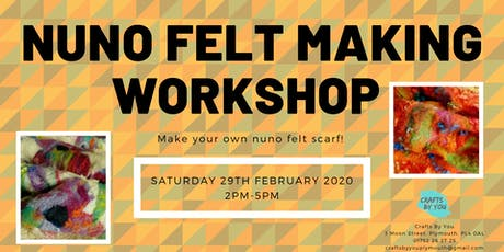 Nuno Felt Making Workshop - Make your own felt scarf! tickets