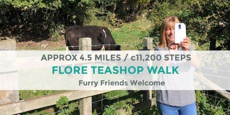 FLORE TEASHOP WALK | 4 MILES / 11k STEPS | MODERATE | NORTHANTS tickets