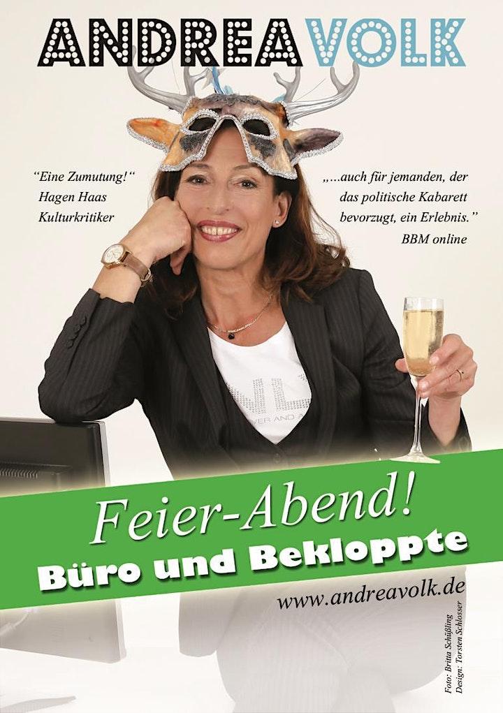 Andrea Volk: Feier - Abend!  Büro und Bekloppte!: Bild