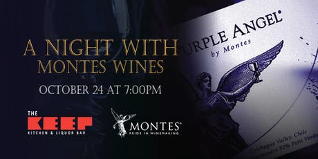 A Night with Montes Wine at The Keep Kitchen & Liquor Bar tickets