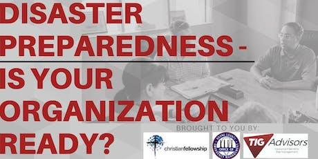 Community Organization Disaster Preparedness Series tickets