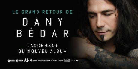 Dany Bédar   Lancement du nouvel album tickets