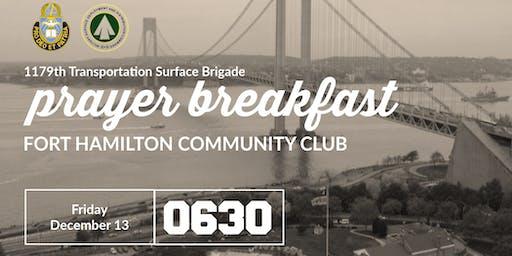 1179th Transportation Surface Brigade Prayer Breakfast