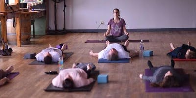 Find Your Balance at Counterweight Brewing (yoga then beer!) on December 21st