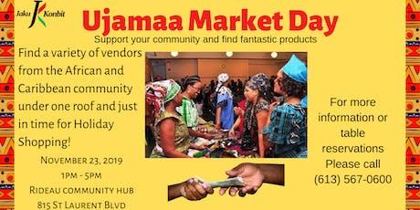 Ujamaa Market Day billets