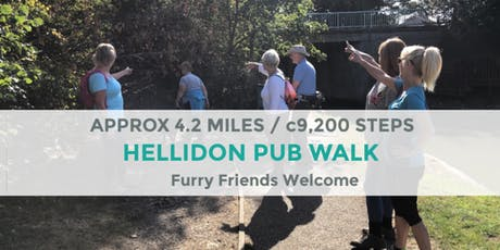 HELLIDON PUB WALK | 4 MILES / 9K STEPS | EASY | NORTHANTS tickets