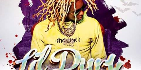 Lil Durk perfroming live in Orlando  October 27th