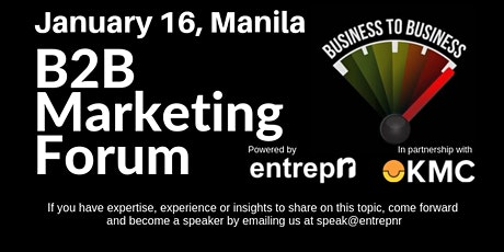 B2B Marketing Forum (Manila) tickets
