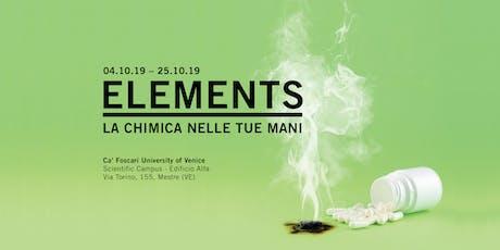 ELEMENTS – Opening biglietti