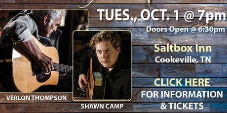 WCTE's Barnegie Hall Concert with Verlon Thompson & Shawn Camp tickets