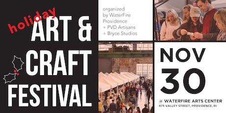 WaterFire Holiday Art & Craft Festival tickets