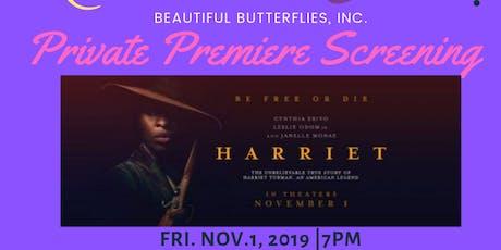Beautiful Butterflies Private Harriet Tubman Premiere Screening tickets