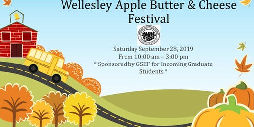 Wellesley Apple Butter Festival with the Graduate Student Association