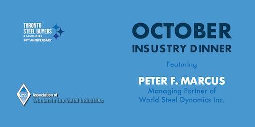Toronto Steel Buyers & AWMI-Toronto Chapter Joint Event