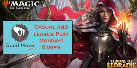 Magic The Gathering: Casual Play - Mondays 6:00PM! tickets