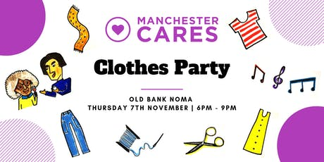 Manchester Cares' Clothes Party tickets