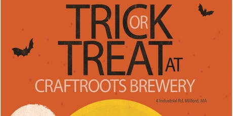 Trick or Treat at CraftRoots Brewery tickets