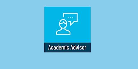 Academic Advisor Development Session 'For Academic Advisors' tickets