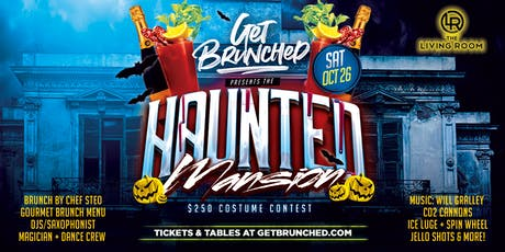 Get Brunched - Haunted Mansion at Living Room tickets