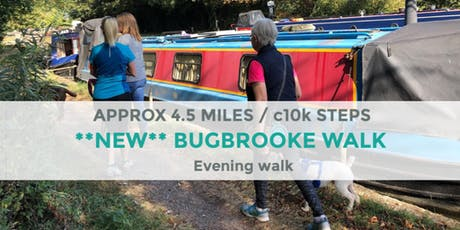 BUGBROOKE EVENING WALK | 4 MILES | MODERATE | NORTHANTS tickets