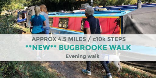 BUGBROOKE EVENING WALK | 4 MILES | MODERATE | NORTHANTS