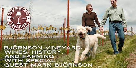 Björnson Vineyard: Wines, History, and Farming with Mark Björnson tickets