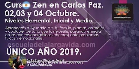 Curso Zen en Carlos Paz: 02,03 y 04 Octubre. entradas