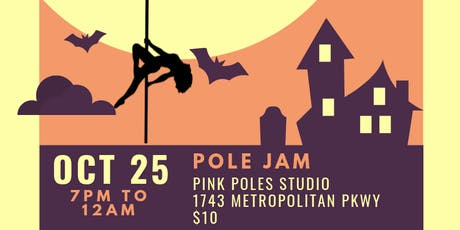 Pole Jam Halloween Party tickets