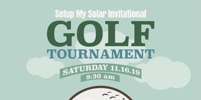 Setup My Solar Invitational Golf Tournament