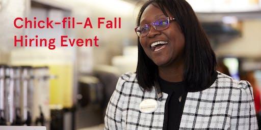 Chick-fil-A Fall Job Fair & Hiring Event