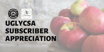 UglyCSA 2019 Subscriber Appreciation Event