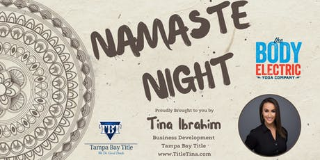 Namaste  Night with Title Tina! tickets
