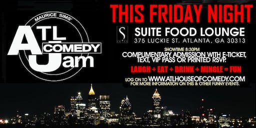 Funny Friday Comedy @ Suite Lounge