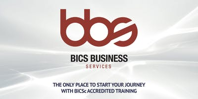 BICSc One Day Accredited Trainer Course - 8th October 2020