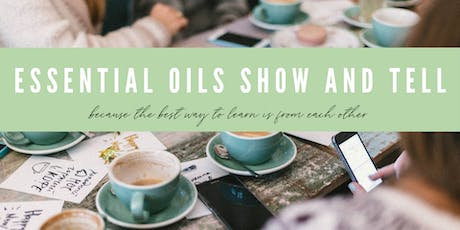 Essential Oils Show and Tell - September tickets