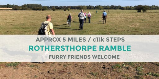 ROTHERSTHORPE RAMBLE | 5 MILES | MODERATE | NORTHANTS