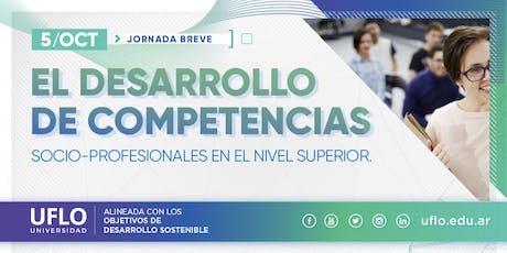 El desarrollo de Competencias socio-profesionales en  el Nivel Superior entradas