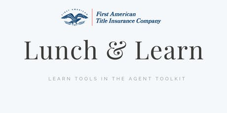 Lunch & Learn with Kelly Siebens from First American Title Insurance tickets